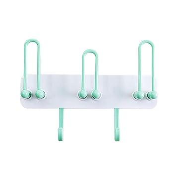 Soporte de pared para cepillos de dientes, colgador de toallas para baño, estante de almacenamiento: Amazon.es: Hogar