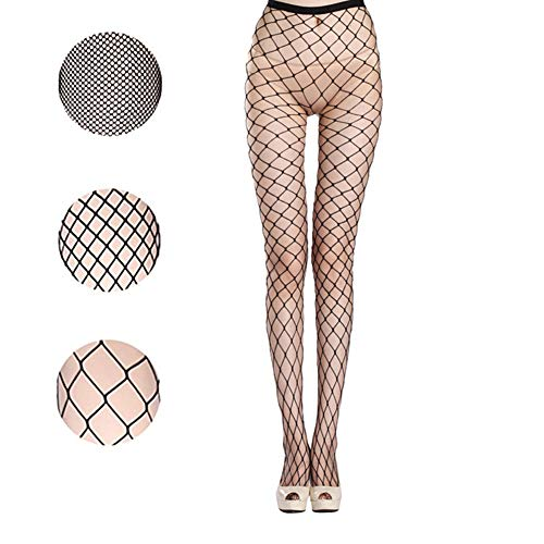 (Fishnet Stockings Sexy Net Pantyhose Womens Mesh Tights (Pack of 3))