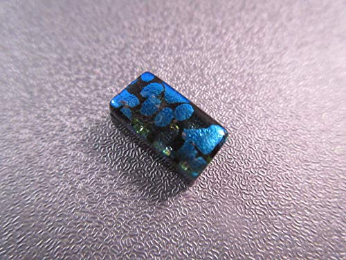 Dichroic Fused Glass Mosaics Cabochon 1pc #ID-2429