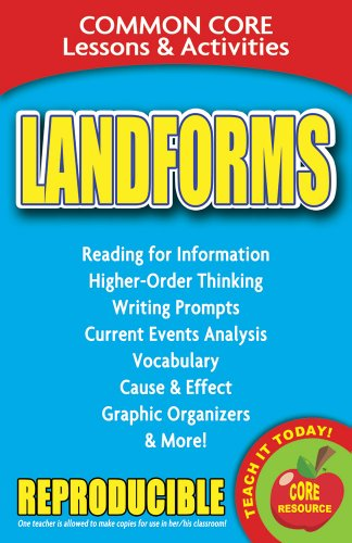 Landforms - Common Core Lessons and Activities