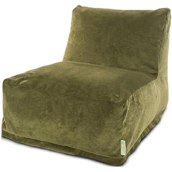 Majestic Home Goods Bean Bag Chair Lounger Villa Fern