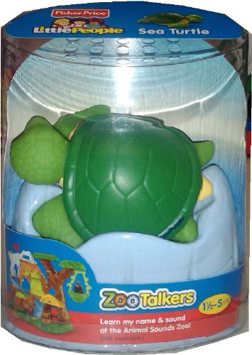 Adorable Turtle (Fisher Price - Little People Zoo Talkers, Sea Turtle - Adorable, Interactive)