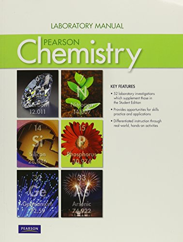 CHEMISTRY 2012 LAB STUDENT MANUAL GRADE 11