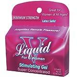Liquid V Stimulating Gel for Women Stimulating Gel - 3 Tubes of 3.3 ml