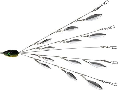 5 Arm Alabama Umbrella Rig Fishing Lures Bass Bait Kit Random hot sell S8J3