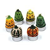 Dopromal -Pumpkin Shaped Candle, Smokeless Christmas Creative Birthday Celebration Candles (6PCS/SET)