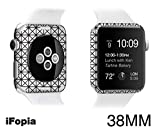 Black Friday Countdown Sale! Apple Watch waterproof Special body protector film accessories case for making(customizing) new apple watch with EDGE SKIN-iFopia®/DIAGRID(47)