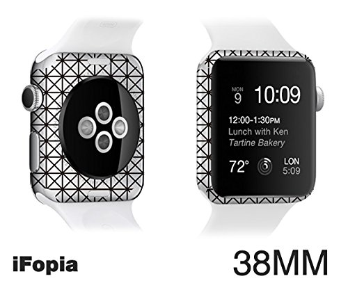 Black Friday Countdown Sale! Apple Watch waterproof Special body protector film accessories case for making(customizing) new apple watch with EDGE SKIN-iFopia®/DIAGRID(47) by iFopia