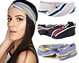 Cheap 3 Pack Women / Girl Headband Twisted Hairband Elastic Criss Cross Head Wrap Accesories Hair Scrunchies For Fashion, Workout, Yoga and Exercise – By Hair Basics