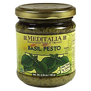 Meditalia B33334 Meditalia Basil Pesto - 6x6.35Oz