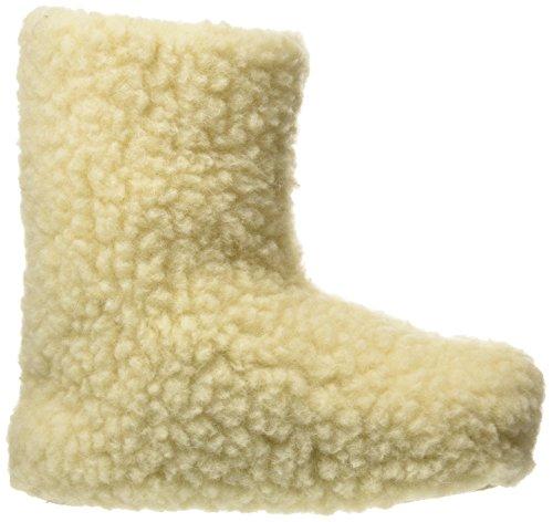 Woolsies Yeti Booties, Unisex-Erwachsene Hohe Hausschuhe Beige (Cream)