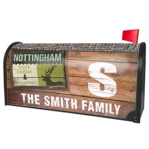 NEONBLOND Custom Mailbox Cover National US Forest Nottingham State Forest -