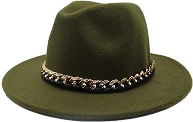 Unisex Fashion Fedora Pork Pie Boater Jazz Top Hat Felt Wide Brim Gambler Hats