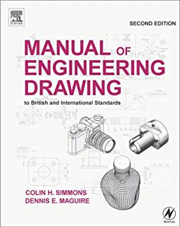 manual of engineering drawing to british and international rh amazon co uk ISO Drafting Standards Book CAD Drafting Standards