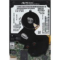 WD5000M22K-24Z1LT0, DCM HBVJBVC, Western Digital 500GB SATA 2.5 Hard Drive