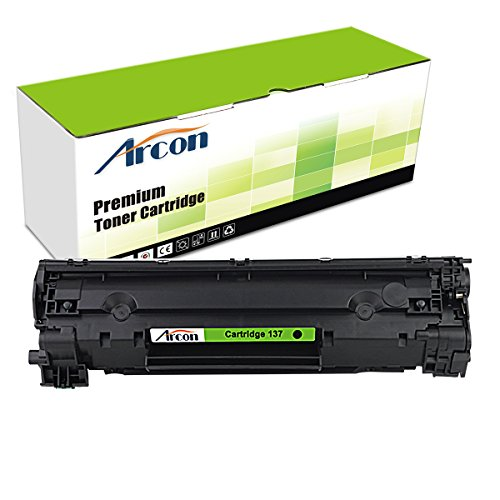 ARCON 1PK (2,400 Pages) Compatible Toner Cartridge Replacement For Canon 137 Canon Cartridge 137 9435B001AA Used For Canon imageCLASS MF212w Canon imageCLASS MF216n imageCLASS MF227dw MF229dw Black