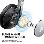 BOMAKER-Cuffie-Wireless-Bluetooth-50-ANC-Headphones-Over-Ear-Cancellazione-Attiva-del-Rumore-con-CVC-80-Microfono-Earbuffs-Proteiche-con-Borsa-Compatibile-con-AndroidiOSTablet-Dolphin–Nero