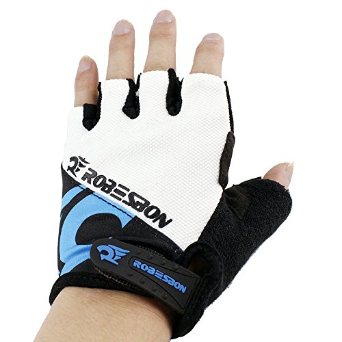 Ezyoutdoor Winter Breathable Unisex Reflex Bike Half Finger Glove for Outdoor Riding Cycling Motorcycle Skiing Outside Sports
