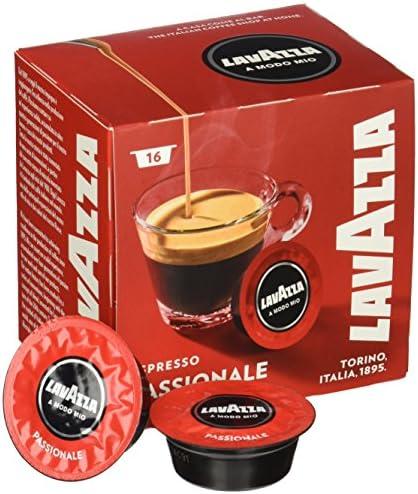 Lavazza A Modo Mio Passionale 16 Coffee Capsules (Pack of ...