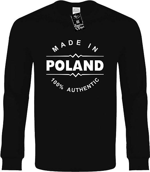 fb9790d9e24d Amazon.com  Funny Long Sleeve T-Shirt (Made in Poland (Europe ...