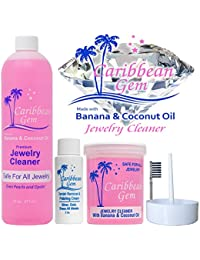 Ultra Jewelry Cleaning Kit with Cleaner & Polishing Cream