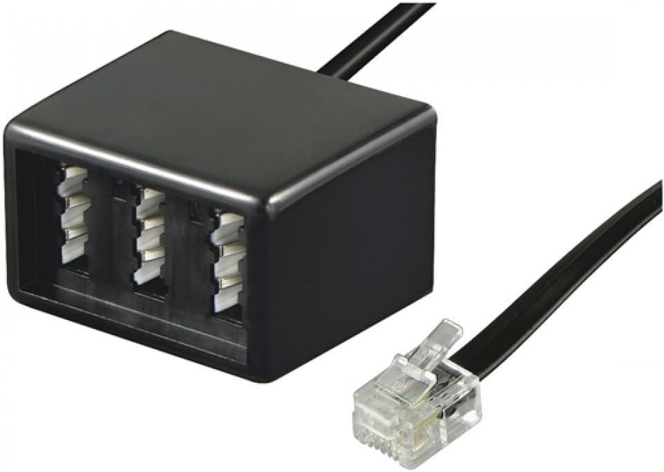 Wentronic Telefon Adapter Rj11 Stecker Auf Tae Buchsen