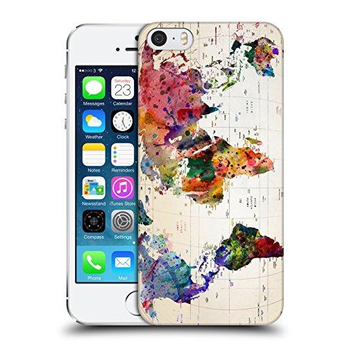 Offizielle Mark Ashkenazi Weltkarte Pop Kultur Ruckseite Hülle für Apple iPhone 5 / 5s / SE