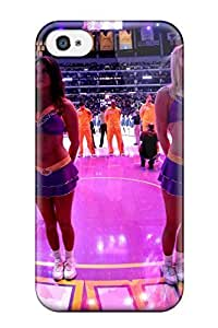 Diy Yourself DanRobertse Iphone 4/4s Well-designed case cover Los Angeles Lakers ucjUKnld2rV Nba Basketball Cheerleader Protector