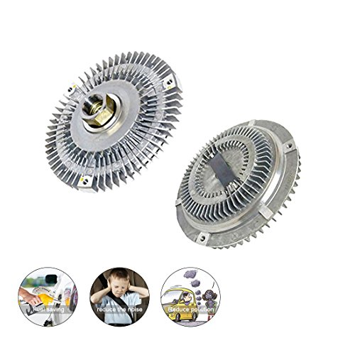 Carrep Radiator Cooling Fan Clutch for BMW 3 5 M Z3 E36 E46 E53 E34 Series e39 528i 525i 530i 338 728i 728il x5 328i 325i 323i 320i 520i 11527505302 ()