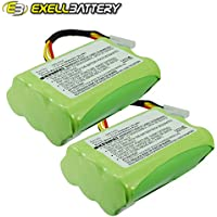 2x 7.2V Battery Fits NEATO VORWERK Vacuums Replaces 205-0001, 945-0005, 945-0006