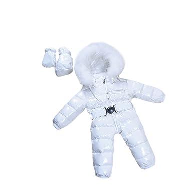 647de9211f400 -30℃ bébé Fille Combinaisons Hiver bébé vêtements, Marque Manteaux de Neige  Porter Down