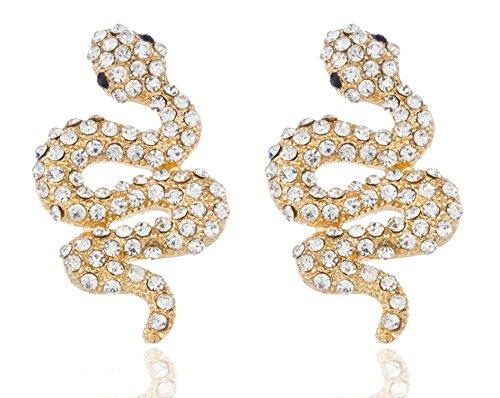 Snake Style Stud Earrings