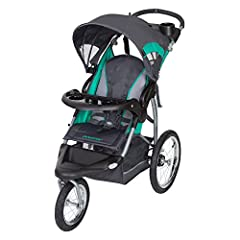 "The Baby Trend Expedition RG Jogger is designed with style. This gender-neutral jogger is sporty and sleek, made with high quality fabrics and premium padding. The Expedition RG is an all-terrain jogger that makes travel a breeze with 16"" rea..."
