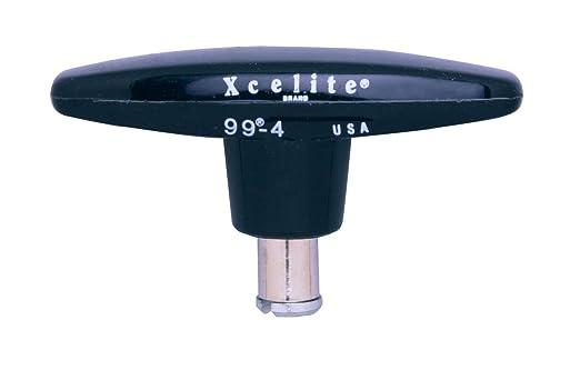 """13//16/"""" Diameter Xcelite 991 Screwdriver Handle For Interchangeable Blade Amber"""