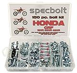 Specbolt Fasteners 150pc Maintenance Restoration OE Spec Motorcycle Bolt Kit for Honda CRF150 CRF250 CRF250 MX Dirtbike CRF 150 250 450