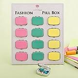 96 Fun Vibrant Colored Pill Boxes