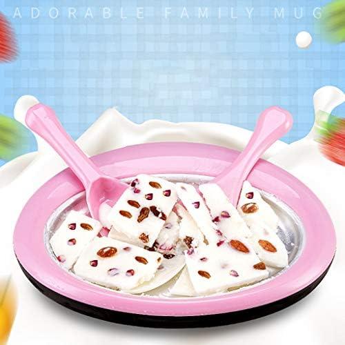 qingqingR Macchina per Yogurt Fritto Famiglia Estiva Preparazione Gelati Gelatiera