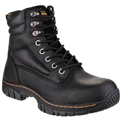 EU45 bout homme de sécurité coque Noir UK10 Chaussures Dr D0856A acier Martens w6qPX7X