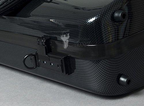 Bam France Hightech 2011XL Violin Case w/ Black Carbon-Look