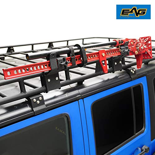 (EAG Hi-jack Bracket Mounting Kit for Roof Rack Fit for 87-19 Jeep Wrangler YJ/TJ/JK/JL )