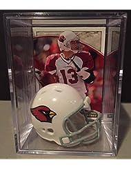 Arizona Cardinals NFL Helmet Shadowbox w/ Kurt Warner card