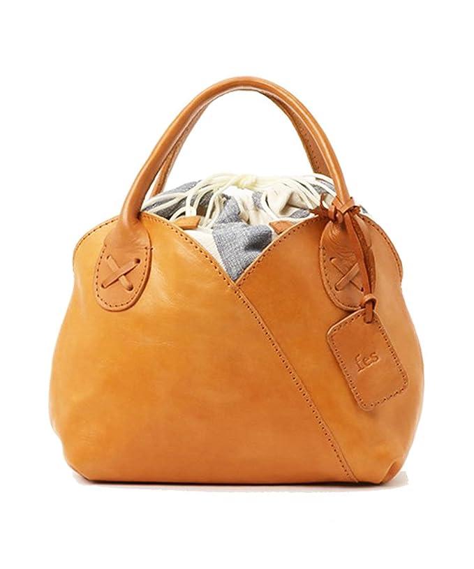 ad3267d7a7a6 Amazon.co.jp: 【 fes フェス 】 ハンド トート カウレザー 牛革 本革 ショルダー バッグ 鞄 レディス gift 47941  (キャメル): 服&ファッション小物