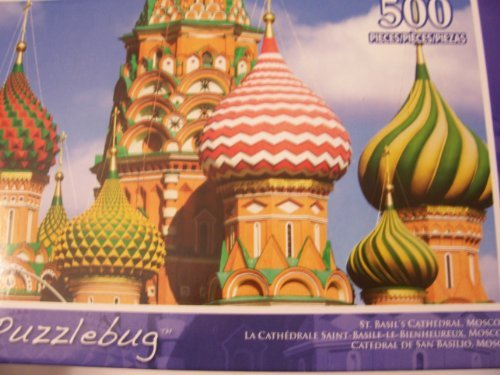 Puzzlebug Puzzlebug Puzzlebug 500 Piece Puzzle  St. Basil's Cathedral, Moscow by Puzzlebug 495160