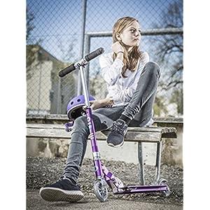 Micro Mobility – Trottinette Sprite – Trottinette Enfant compacte et Pliable – Apprentissage de l'équilibre – À partir de 6 Ans