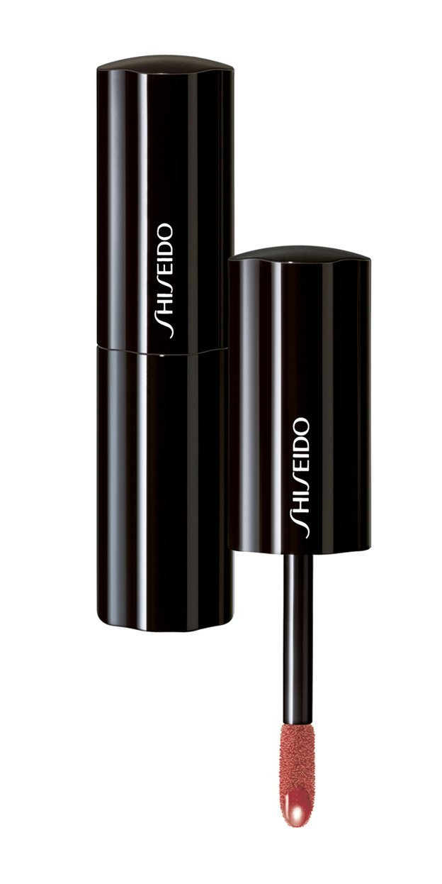 Shiseido Lacquer Rouge # Rs322 Metal Rose Lip Gloss for Women, 0.2 Ounce