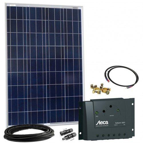 Kit Di Montaggio Fotovoltaico Da 100Wp -Impianto Fotovoltaico Da 12V,...