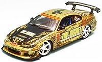 1/24 トップシークレット D1 シルビア S15 2004 三木竜二 ORC #1(ゴールド×ブラック) 「D1 GRAND PRIX SERIES」 HW24017の商品画像