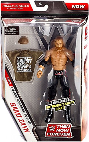 WWE, Elite Collection, Then Now Forever Sami Zayn Exclusive Action Figure, 6 Inches