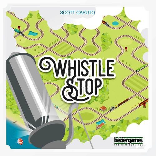 Bezier Games Whistle Stop Board Games by Bezier Games