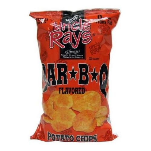 (Uncle Rays Bar-B-Q Potato Chips, 6 oz. bag - 9 per case)